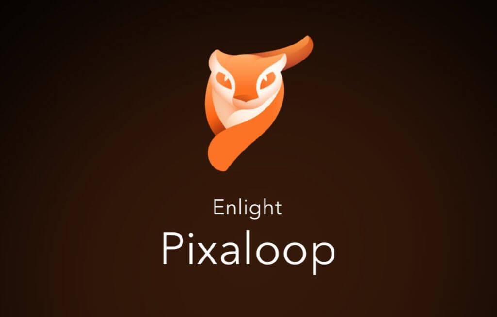 Eine der Fotografie Apps:  Pixaloop Logo